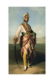 Duleep Singh  Maharajah of Lahore (1838-93)  1854 Lithographed by RJ Lane