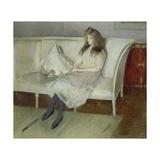Symphony in White - Portrait of Yvonne Paulmier