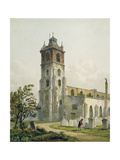 St Giles' Church  Cripplegate  City of London  1815