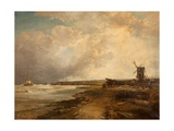 After a Thunderstorm on the Sussex Coast  1882-83