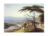 The Town of Leetakoo  Plate 22 from 'African Scenery and Animals'  Engraved by the Artist  1805