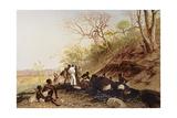 T897 Working on a Coal Seam Near Tete  Lower Zambezi  1859