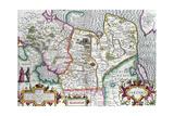 Map of Tartaria  from Mercator's 'Atlas  C1595