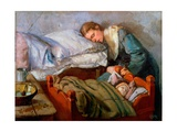 Sleeping Mother  1883