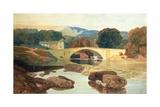 Greta Bridge  Yorkshire  1810