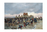 Bivouac at Le Bourget after the Battle of 21st December 1870  1872