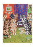 Cat's Tea Party