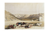 T1211 Approach to Mount Sinai  Wady Barah  February 17th 1839  Plate 122 from Volume III of 'The…