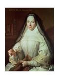 Frances Woollascot  an Augustinian Nun