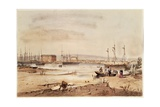 Port Adelaide  from the 'South Australia Illustrated'  1846