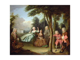 Viscount Tyrconnel with His Family C1725-6