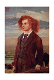 Portrait of Algernon Charles Swinburne (1837-1909)