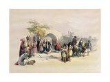 T1214 Fountain of the Virgin  Nazareth  April 21st 1839  Plate 29 from Volume I of 'The Holy…