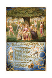 The Echoing Green: Plate 6 from 'Songs of Innocence and of Experience' C1815-26