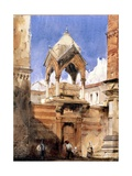 The Castelbarco Tomb  Verona  1827