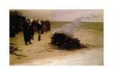 The Funeral of Shelley  1889