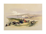 T1213 Ashdod  March 24th 1839  Plate 58 from Volume II of 'The Holy Land'  Engraved by Louis…