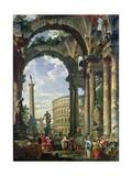 Roman Capriccio  18th Century