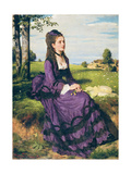 Woman in Violet  1874