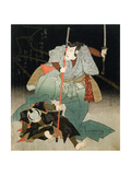 Ichikawa Danjuro VII Overpowering an Officer of the Law  C1830-44
