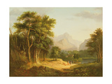 Highland Landscape with Figures