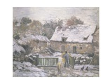 A Farm at Montfoucault: Effect of Snow  1876