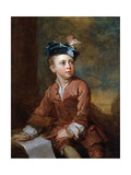 Portrait of a Young Boy  C1735