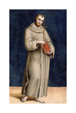 St Francis of Assisi  Panel from the Predella of the Colonna Altarpiece  C1502
