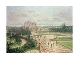 The Garden of the Tuileries in Rainy Weather  1899