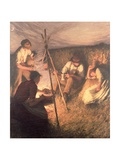 The Harvester's Supper  1898