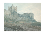Bamburgh Castle  Northumberland  18th Century