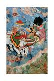 Krishna's Combat with Indra  C1590