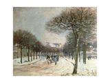 The Road to Saint-Germain at Marly  1874-5