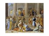 The Triumph of David  C1631-3