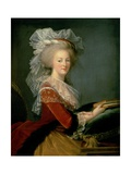 Portrait of Marie Antoinette (1755-93)