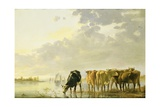 Cattle by a River  C1650