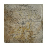 Geological Map of the Neighbourhood of Bath  Engraved by John Cary and Then Hand-Coloured by the…