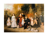 Family of the Businessman B H Strousberg