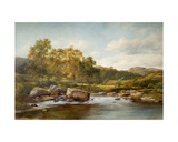 Stepping Stones on the River Llugwy  1889