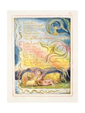 Spring (Cont): Plate 23 from Songs of Innocence and of Experience C1815-26