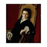 Portrait of Poliksena Stepanovna Stasova (1839-1918) Wife of DV Stasov  1879