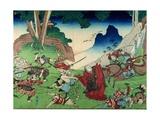 Nichiren Confuses His Enemies  1830