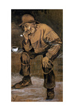Old Man with a Pipe  1883