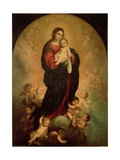 Virgin and Child in Glory  1673