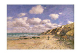 A Beach Near Trouville  1895