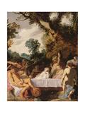 A Bacchanalian Feast  C1617