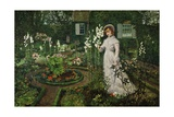 The Rector's Garden  Queen of the Lilies  1877