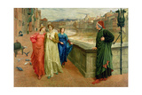 Dante and Beatrice  1884