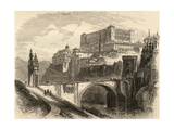Toledo  Spain  Illustration from 'spanish Pictures' by the Rev Samuel Manning