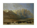 Encampment of the Tribe of the Outad-Said  Mount Sinai  1839